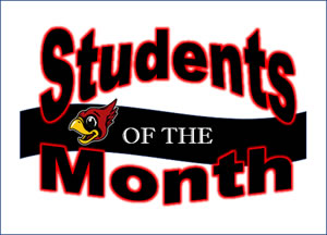 Students of the MOnth clip art